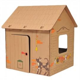 Poze Proiect din carton casa Cabin