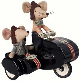 Poze Motociclistii vitezomani - Set auto Maileg