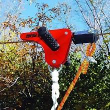 Sistem de franare tiroliana Slackers Zipline