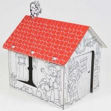 Proiect din carton casa Adventure