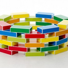 Caramizi Buntbox Color din carton reciclat