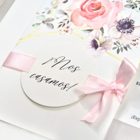 Invitatie de nunta florala 39723