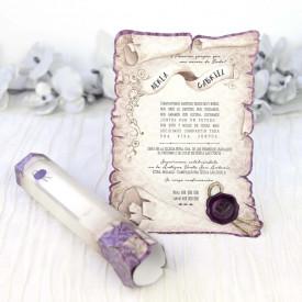 Invitatie de nunta papirus 39215