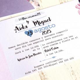 Invitatie de nunta 39809