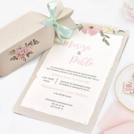 Invitatie de nunta bomboana