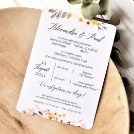 Invitatie de nunta ECO 39786