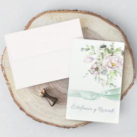 Invitatie de nunta florala 39721