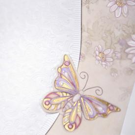 Invitatie de nunta fluture 31307