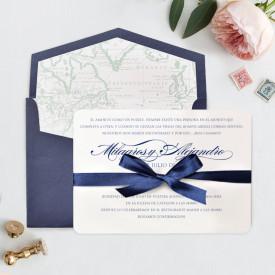 Invitatie de nunta LUX 39709