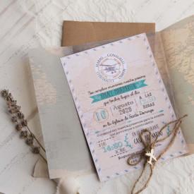 Invitatie de nunta travel 39823