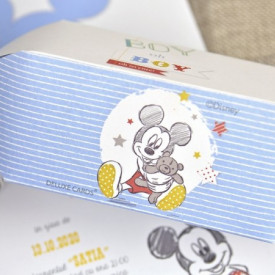 Invitatie de botez bomboana Mickey