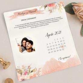 Invitatie de nunta calendar 39718