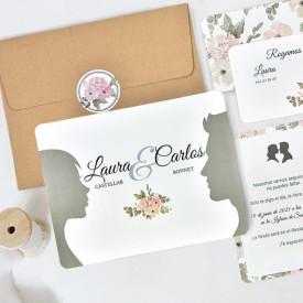 Invitatie de nunta chip