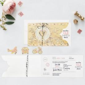 Invitatie de nunta travel 39703