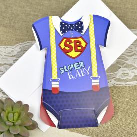 Invitatie de botez superbaby