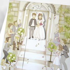 Invitatie de nunta 31301