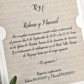 Invitatie de nunta copac 39616