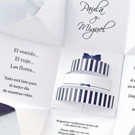 Invitatie de nunta cutie 39107