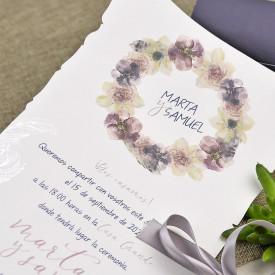 Invitatie de nunta cutie 39627