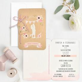 Invitatie de nunta pasaport 39706