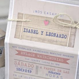 Invitatie de nunta servieta 39339