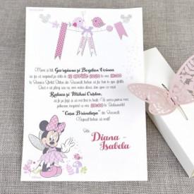 Invitatie de botez fairy Minnie
