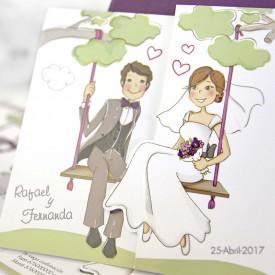 Invitatie de nunta 39124