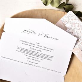 Invitatie de nunta ECO 39764