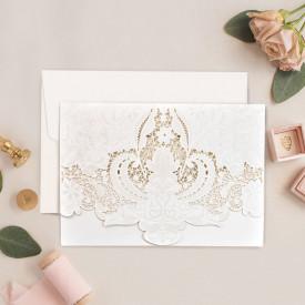 Invitatie de nunta gravura