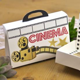 Invitatie de nunta servieta Cinema