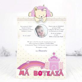 Invitatie de botez fairy