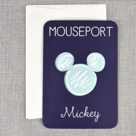Invitatie de botez pasaport Mickey