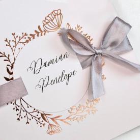 Invitatie de nunta florala 39716