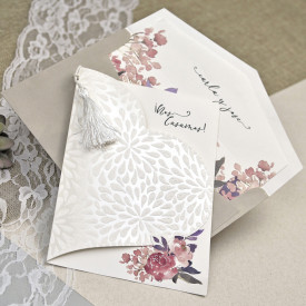 Invitatie de nunta inima 39612
