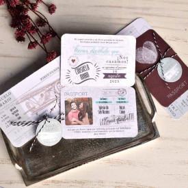 Invitatie de nunta pasaport 39822