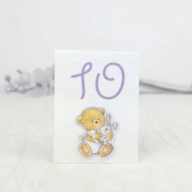 Numar de masa botez 1205