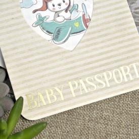 Invitatie de botez pasaport 15605
