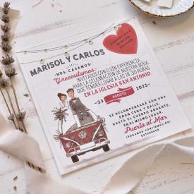 Invitatie de nunta 39808