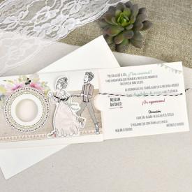 Invitatie de nunta comic 39634