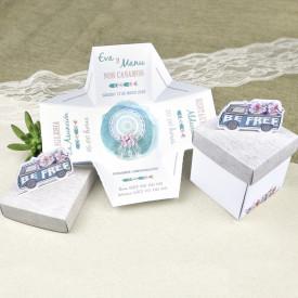 Invitatie de nunta cutie masina