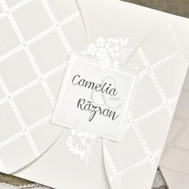 Invitatie de nunta eleganta 39643