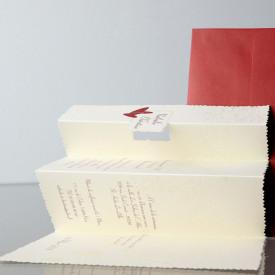 Invitatie de nunta pliata 32757