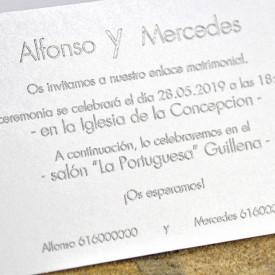 Invitatie de nunta 39327