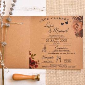 Invitatie de nunta 39825