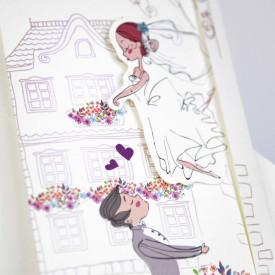 Invitatie de nunta comic 39230