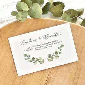 Invitatie de nunta ECO 39771