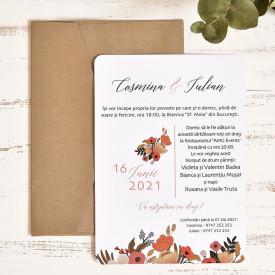 Invitatie de nunta ECO 39785