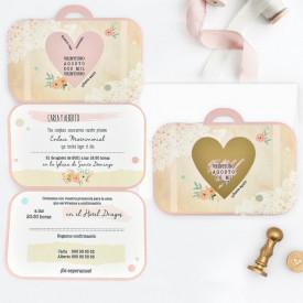 Invitatie de nunta geanta 39710