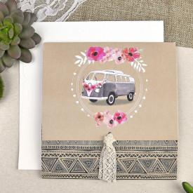 Invitatie de nunta masina 39610