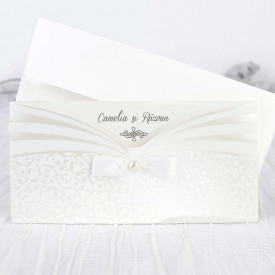 Invitatie de nunta white 39241